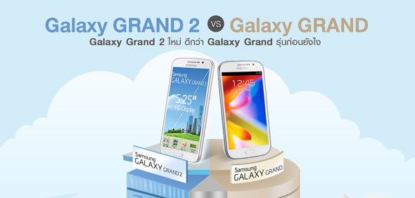 Samsung Galaxy Grand 2 vs Grand