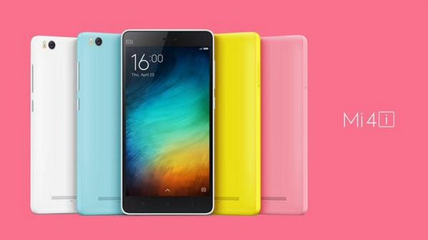 Xiaomi Mi 4i สมาร์ทโฟนราคาย่อมเยา เปิดตัวแล้ว! มาพร้อมหน้าจอ 5 นิ้ว ตัวเครื่องสีสันสดใส ในราคาเบาๆ เป็นผู้ผลิตสมาร์ทโฟนจากจีน ที่ขยันเปิดตัว มือถือ อย่างต่อเนื่องเลยก็ว่าได้ โดยล่าสุด Xiaomi ได้เปิดตัว Xiaomi Mi 4i สมาร์ทโฟนน้องใหม่อย่างเป็นทางการแล