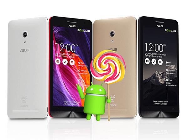 เอซุส เลื่อนปล่อยอัพเดท Lollipop ให้ Zenfone 4, 5 และ 6 ออกไปแบบไม่มีกำหนด