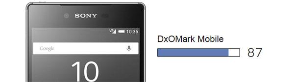 Sony Z5 ផ្តួលគូប្រកួត Galaxy S6 Edge ដែលជាស្មាតហ្វូនមានកាមេរ៉ាកំពូល
