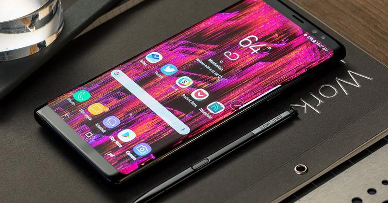 Samsung ปล่อยเฟิร์มแวร์อัปเดตสำหรับ Samsung Galaxy Note 8