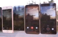 เปรียบเทียบคลิปที่ได้จากการถ่ายวีดีโอ ระหว่าง Samsung Galaxy S8 กับ 4 มือถือเรือธงรุ่นยอดนิยม iPhone 7 Plus, LG G6, Google Pixel และ One Plus 3T แตกต่างกันแค่ไหน มาดู!