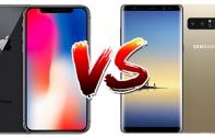 เปรียบเทียบ iPhone X และ Samsung Galaxy Note 8 สองสมาร์ทโฟนเรือธงโฉมใหม่ล่าสุด รุ่นไหนมีจุดเด่นอย่างไร ดูกันชัดๆ ได้ที่นี่