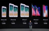 สรุปราคา iPhone X  iPhone 8 และ iPhone 8 plus พร้อมวันวางจำหน่าย เผยราคา iPhone X รุ่น 64 GB ทะลุ 40,000 บาทแล้ว