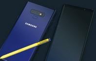 หลุดภาพโปรโมต Samsung Galaxy Note9 มาพร้อมบอดี้สีน้ำเงิน และปากกา S Pen สีเหลืองทอง พร้อมหลุดราคา Note9 ในยุโรปเฉียด 4 หมื่นบาท!
