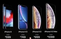ราคา iPhone XS มาแล้ว เริ่มต้นที่ 32,900 บาท ด้าน iPhone XR เริ่มต้นที่ 25,000 บาท เปิดพรี 14 ก.ย. จำหน่าย 21 ก.ย. นี้