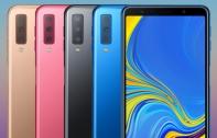 เปิดตัว Samsung Galaxy A7 (2018) มือถือกล้องหลัง 3 ตัวรุ่นแรกของ Samsung ความละเอียด 24MP พร้อม RAM สูงสุด 6 GB และสแกนนิ้วที่ด้านข้าง