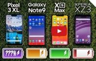 ทดสอบกันอีกรอบ เปรียบเทียบความอึดของแบตเตอรี่บนมือถือเรือธง 4 รุ่น iPhone XS Max จะใช้งานได้นานกว่า Note 9 หรือไม่ ให้คลิปตัดสิน