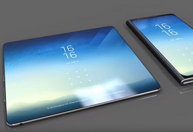 Samsung Galaxy X ว่าที่มือถือจอพับได้ อาจมีถึง 3 หน้าจอ