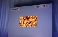 [CES 2019] Samsung เปิดตัวจอภาพ MicroLED ขนาด 75 นิ้ว ยกระดับทีวียุคอนาคต สามารถนำมาประกอบและต่อเป็นหน้าจอในขนาดที่ต้องการได้
