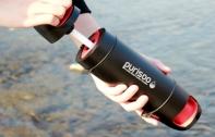 Purisoo เครื่องกรองน้ำฉบับพกพาสำหรับสายท่องเที่ยว สามารถกรองและดักจับแบคทีเรียได้มากถึง 99.99% เปลี่ยนน้ำในลำธารให้กลายเป็นน้ำสะอาดดื่มได้ทันที