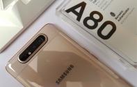 เปิดตัว Samsung Galaxy A80 มือถือจอยักษ์ 6.7 นิ้วพร้อมกล้องสไลด์แบบหมุนได้ RAM 8GB มีสแกนนิ้วใต้จอและชาร์จเร็ว 25W เตรียมขาย 29 พ.ค.นี้