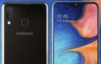 เปิดตัว Samsung Galaxy A20e คู่แฝดของ A20 แต่จอไซส์เล็กกว่าที่ 5.8 นิ้ว พร้อมกล้องคู่ 13MP, RAM 3 GB และรองรับชาร์จเร็ว บนดีไซน์จอบาก Infinity-V Display