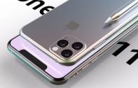 iPhone 11 Pro ชมคอนเซ็ปต์ล่าสุด มาพร้อมกล้องด้านหลัง 3 ตัว และรองรับ Apple Pencil บนดีไซน์จอบาก และบอดี้สีสันใหม่แบบ Aura Glow