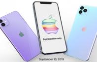 iPhone 11 เผยสเปกทั้ง 3 รุ่นก่อนเปิดตัวสัปดาห์หน้า จ่อมาพร้อม RAM สูงสุด 6 GB และกล้องหลัง 3 ตัว คาดวางขายวันแรก 20 กันยายนนี้