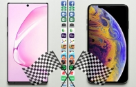 Samsung Galaxy Note 10+ vs iPhone XS Max เปรียบเทียบการทดสอบ Speed Test เรือธงรุ่นใดประมวลผลได้เร็วกว่า ชมคลิป