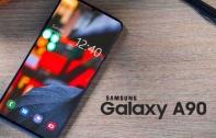 Samsung Galaxy A90 5G หลุดภาพเรนเดอร์ทางการ พร้อมสเปก ยืนยันมาพร้อมชิป Snapdragon 855, RAM 6 GB และกล้องหลัง 3 ตัว 48MP บนดีไซน์จอบากหยดน้ำขนาด 6.7 นิ้ว