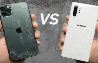 ทดสอบ Drop Test ระหว่าง iPhone 11 Pro Max และ Samsung Galaxy Note 10+ จะแข็งแกร่งอย่างที่คิดหรือไม่ มาชมกัน