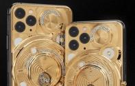 เผยโฉม iPhone 11 Pro รุ่น Discovery Solarius จาก Caviar ด้วยฝาหลังทองครึ่งกิโล ประดับเพชร 137 เม็ด พร้อมกลไกนาฬิกา Tourbillon สุดหรู เคาะราคาที่ 2 ล้านต้น ๆ !