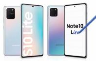 เปิดตัว Samsung Galaxy S10 Lite และ Samsung Galaxy Note 10 Lite มาพร้อมสเปกระดับเรือธง พร้อมกล้องหลัง 3 ตัว บนดีไซน์หน้าจอเจาะรูขนาด 6.7 นิ้ว เคาะราคาเริ่มต้นที่ 20,000 บาท