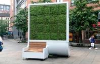 ลอนดอนผุดไอเดียสุดเจ๋ง สร้าง City Tree แผงกรองมลพิษจากต้นมอส ไม่จำเป็นต้องปลูกต้นไม้ขนาดใหญ่ แต่มีคุณภาพเทียบเท่าต้นไม้ถึง 275 ต้น