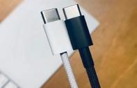หลุดภาพถ่ายสายชาร์จ USB-C to Lightning แบบถัก คาดมาพร้อม iPhone 12