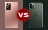 เปรียบเทียบสเปก Samsung Galaxy Note20 Ultra vs iPhone 11 Pro Max มือถือเรือธงรุ่นคู่แข่ง แตกต่างกันแค่ไหน ?