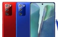 Samsung Galaxy Note20 เผยภาพตัวเครื่อง 3 สีใหม่ Mystic Red, Mystic Pink และ Mystic Blue
