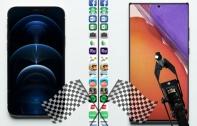 เปรียบเทียบความเร็วในการเปิดแอปฯ (Speed Test) ระหว่าง iPhone 12 Pro และ Galaxy Note 20 Ultra พิสูจน์ iPhone 12 Pro เร็วกว่า ทั้งที่ RAM น้อยกว่าเท่าตัว