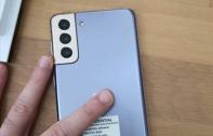 หลุดภาพ Samsung Galaxy S21+ ตัวเครื่องจริง ยืนยันดีไซน์เหมือนภาพเรนเดอร์ กล้องหลัง 3 ตัวออกแบบใหม่ พร้อมบอดี้สี Phantom Violet