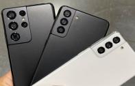 Samsung Galaxy S21 เผยภาพตัวเครื่องจริงทั้ง 3 รุ่นก่อนเปิดตัว พร้อมเทียบขนาดกับ iPhone 12 Pro Max ปักหมุดเจอกันคืนนี้สี่ทุ่ม