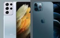 เปรียบเทียบสเปก Samsung Galaxy S21 Ultra 5G vs iPhone 12 Pro Max เรือธงคู่แข่ง ต่างกันแค่ไหน ?