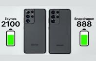 ผลทดสอบชิปเซ็ต Exynos 2100 บน Samsung Galaxy S21 Ultra กินแบตน้อยกว่า Qualcomm Snapdragon 888 (มีคลิป)