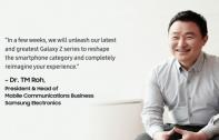จับตาก้าวสำคัญ! ซัมซุงชี้ ยุคของนวัตกรรมสมาร์ทโฟนรูปแบบใหม่กำลังเริ่มต้นขึ้นแล้ว