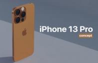 iPhone 13 Pro เผยภาพคอนเซ็ปต์ล่าสุด ลุ้นมาพร้อมสีสันใหม่ Sunset Gold อุ่นเครื่องก่อนเปิดตัวกันยายนนี้