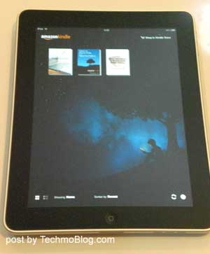 Kindle for iPad : Home screen
