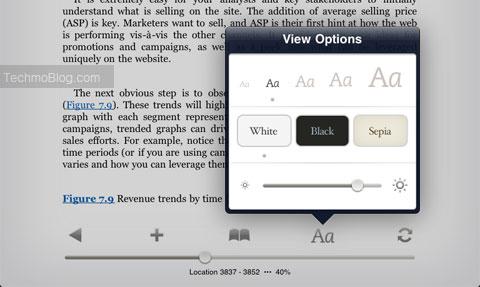 menu eBook