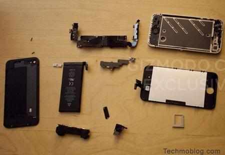iPhone 4G ภาพรายละเอียดอุปกรณ์