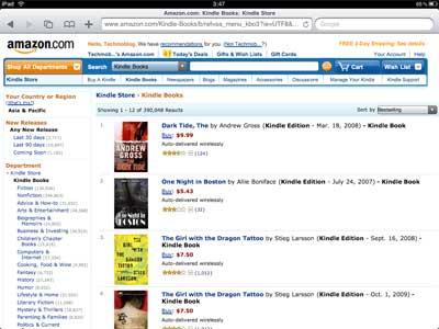 คราวนี้สามารถซื้อหนังสือ eBook ได้แล้วครับ