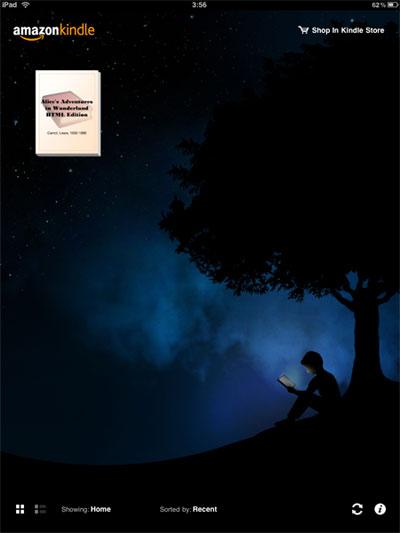 หนังสือ eBook พร้อมสำหรับอ่านบน iPad