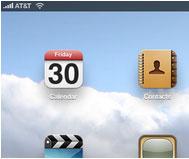 มุมซ้ายหน้าจอ มีระดับสัญญาณ 3G