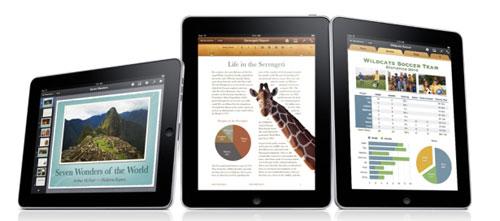 iWork สำหรับ iPad