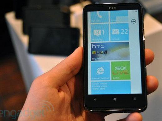 HTC HD7 หน้าตาคล้ายคลึง HD2