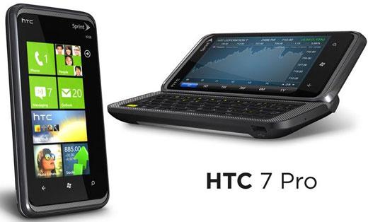 HTC Pro 7 Windows Phone 7 อีกตัวจาก HTC