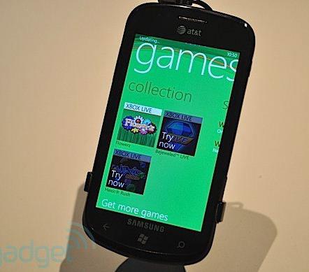 Samsung Focus ค่ายนี้ก็มี Windows Phone 7
