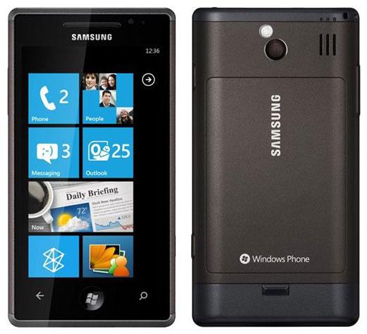Samsung Omnia 7 มือถือ Windows Phone 7  ตัวที่สองของ Samsung
