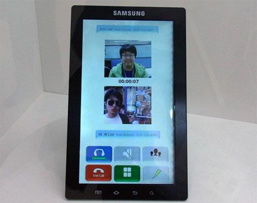 Samsung Galaxy Tab หน้าจอ 10 นิ้ว