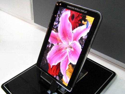 Samsung Galaxy Tab หน้าจอ super AMOLED