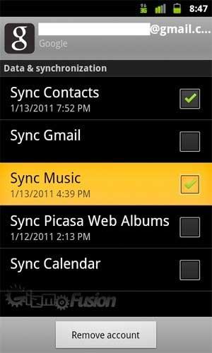 google-music-sync-gingerbread