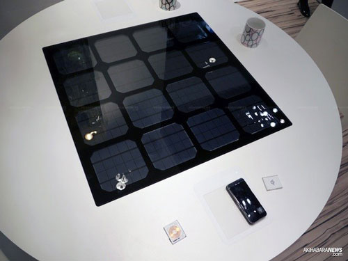 table solar wireless